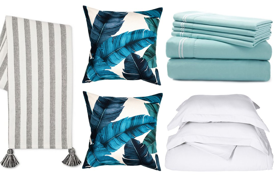 Light Pink Throw Pillows Target: Design Your Bed For Under $100: Duvet Sets, Sheets