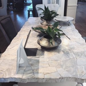 arhaus has this gorgeous century marble dining table comes in a 54 60 - Marble Dining Table