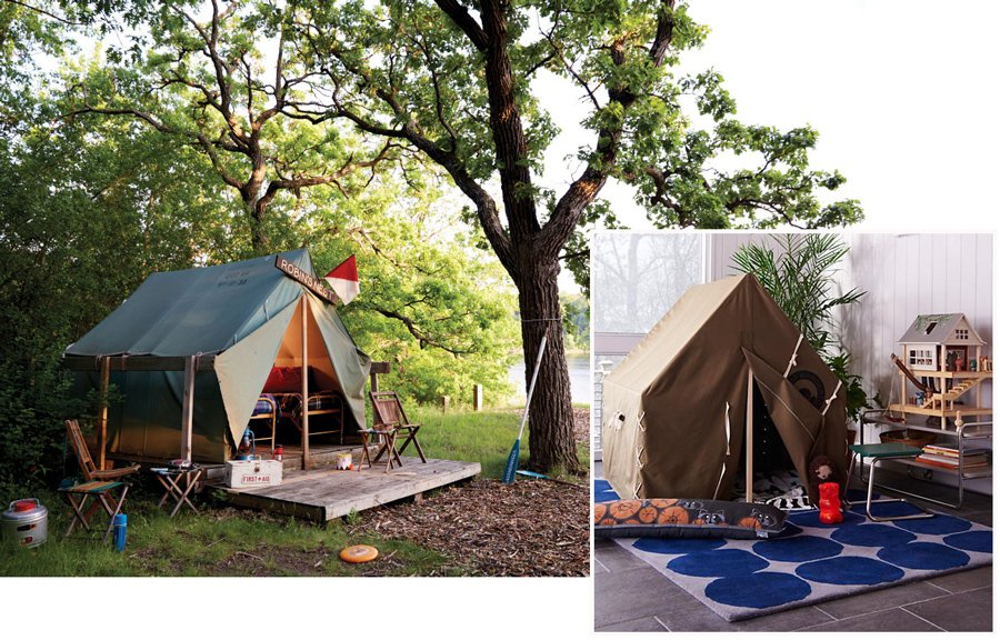 Bringing the Outdoors in with Camp Wandawega for Nod