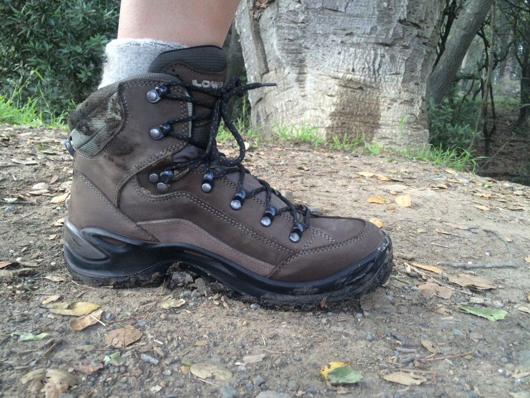 f3221c0d424 Gear Review: Women's Lowa Renegade GTX Mid Hiking Boots | REI Co-op ...