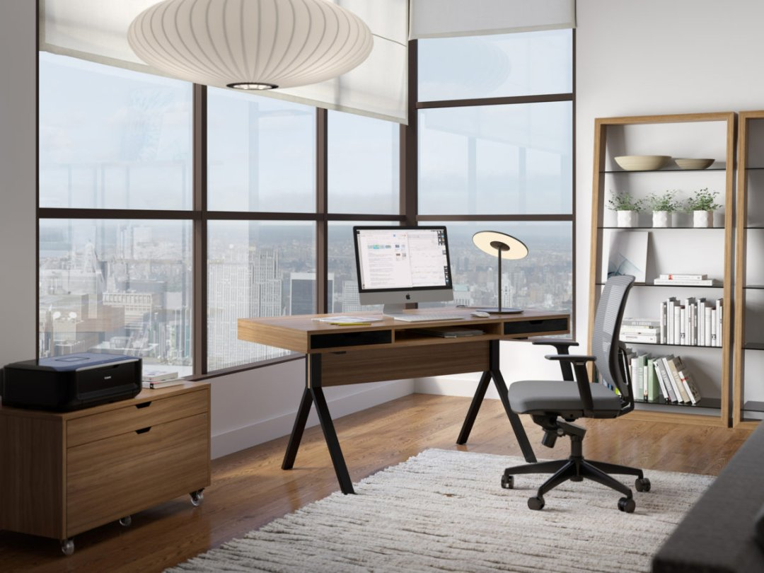 How To Design A Healthy Home Office Ylighting Ideas,Industrial Chic Industrial Bathroom Decor