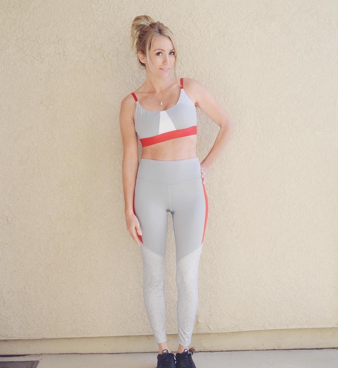 86a581637243e Women s Performance 7 8 Color Block High-Waisted Leggings - JoyLab ...