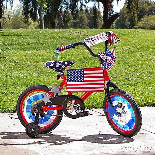 American Flag Patriotic Bike Parade Decorations