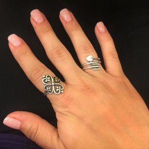 what better way to show off my new james avery ring than with a manicure - James Avery Wedding Rings