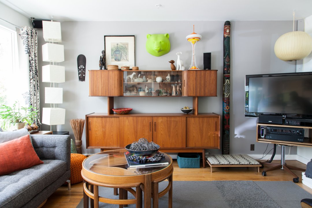 Get The Look Mid Century Modern Meets Eclectic