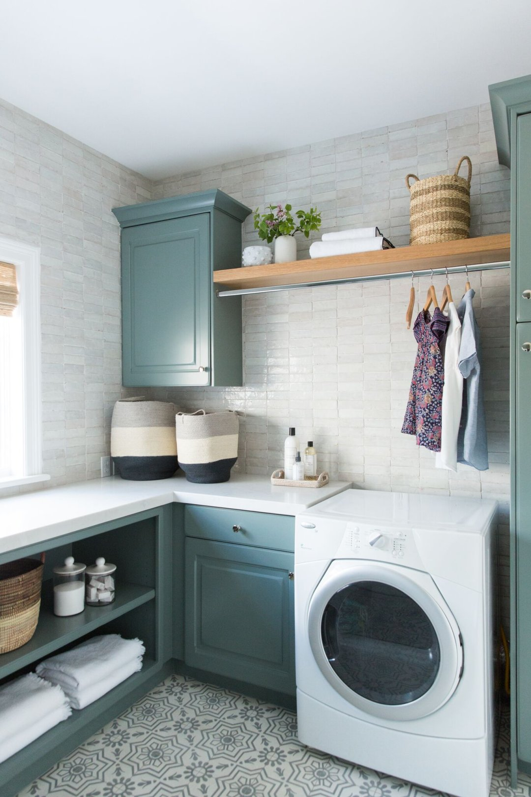 Stony Brook Laundry Room Transformation