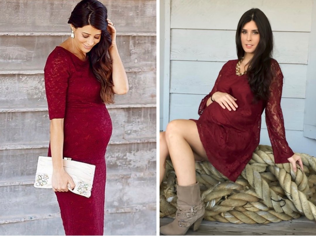 We are fa la la loving red shop burgundy lace maternity dress burgundy lace bell sleeve maternity dresstunic and more ombrellifo Images