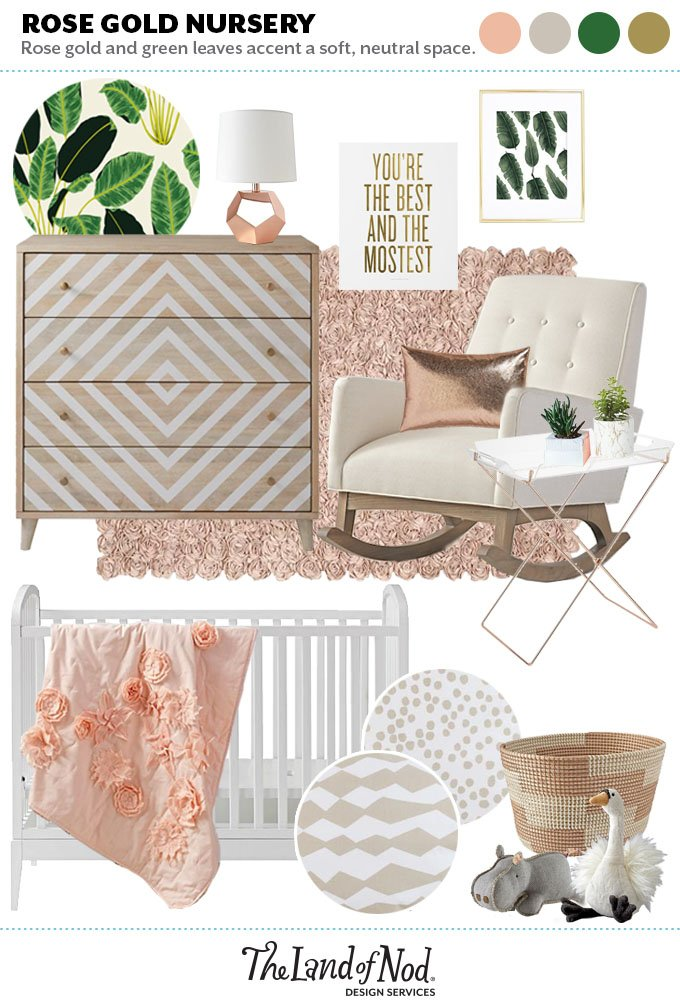 Stupendous Rose Gold Nursery Accents Cratekids Blog Caraccident5 Cool Chair Designs And Ideas Caraccident5Info