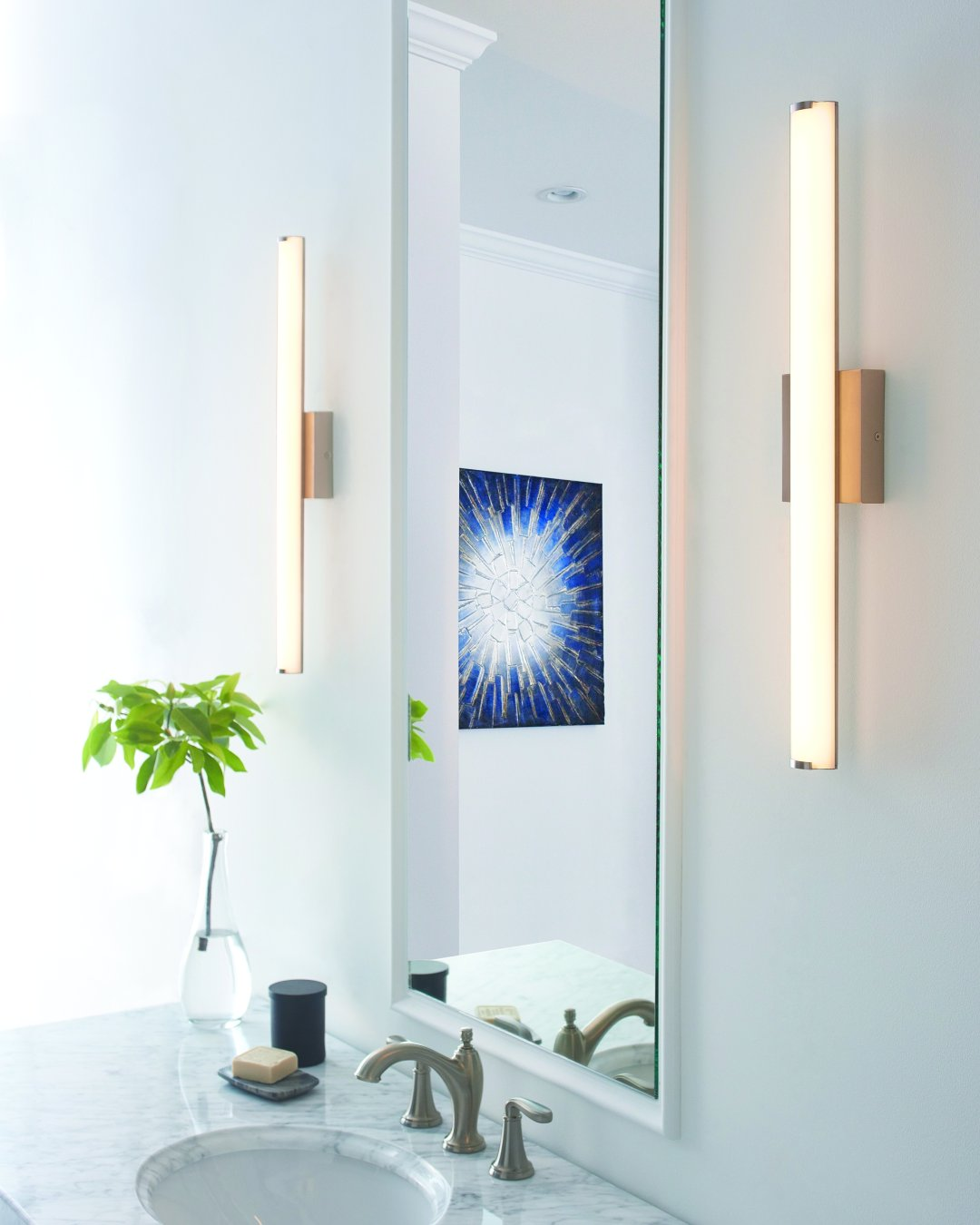 Bathroom lighting ideas 3 tips for better bath lighting at theres nothing quite like natural light right the true color of our face hair makeup and clothes is best represented in the daylight so this is the aloadofball Choice Image
