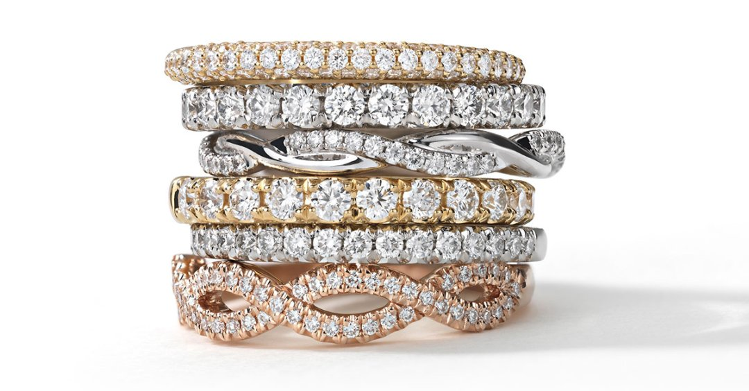 How Do You Stack Up What S New In Wedding Bands Blue Nile
