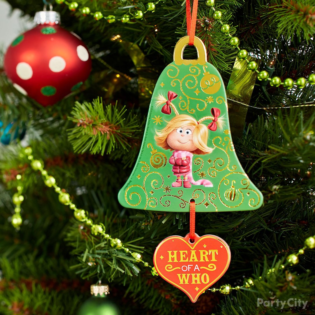 The Grinch Christmas Tree Decorations.Grinch Christmas Decorating And Party Ideas Party City