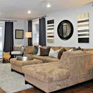 Nice Cheap Living Room Furniture. I love spending a  snowday home snuggled on this sofa here in our family Raymour Flanigan Your Home for Furniture Mattresses Decor