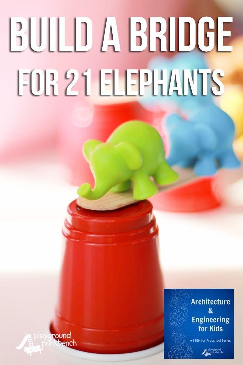 build a bridge for 21 elephants