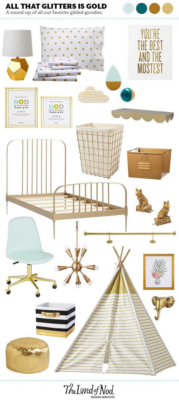 Gold Decor for Your Home