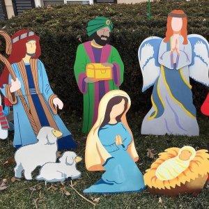 Nativity Scene Yard Decor