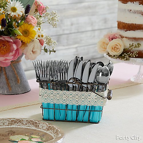 curated image with classic silver red premium plastic forks 20ct classic silver red