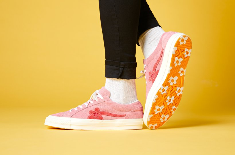Tyler The Creator X Converse Golf Le Fleur Launch