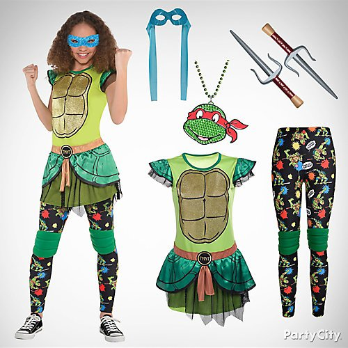 Halloween Costume 2020 Party City Tmnt Half Shell Heroes 10 Top Girls' Costume Ideas for Halloween | Party City