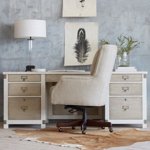 alex desk chair | arhaus furniture