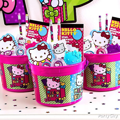 Curated image with Rainbow Hello Kitty Favor Container, Pink Crinkle Paper  Shreds, Rainbow Hello ... 9928848645