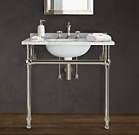 Shop Gramercy Metal Single Washstand with Backsplash and more ...