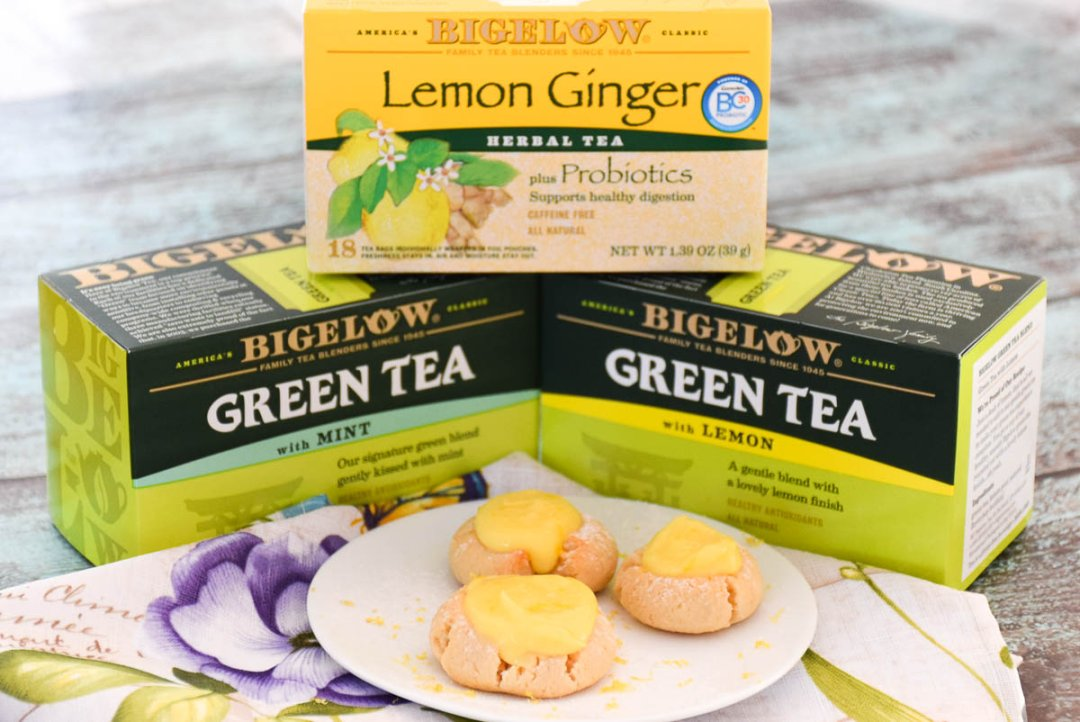 Shop Bigelow Green Tea with Mint - 20 CT - Walmart.com, Bigelow Herbal Tea Bags Plus Probiotics Lemon Ginger - 18 CT - Walmart.com, Bigelow® Green Tea with Lemon 20 ct Box - Walmart.com and more
