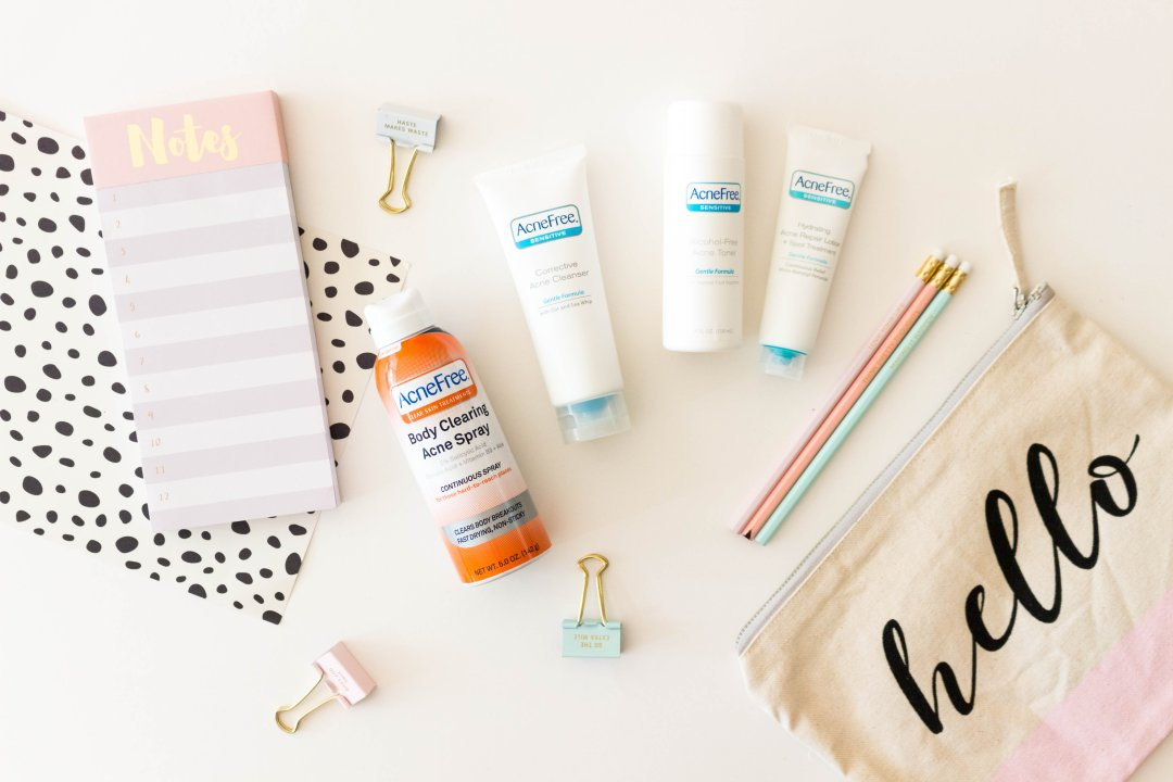 Back to School in Confident Skin with AcneFree
