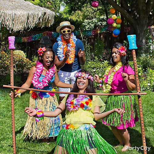 d4ca1f93e0bb Totally Tiki Luau Party Ideas | Party City