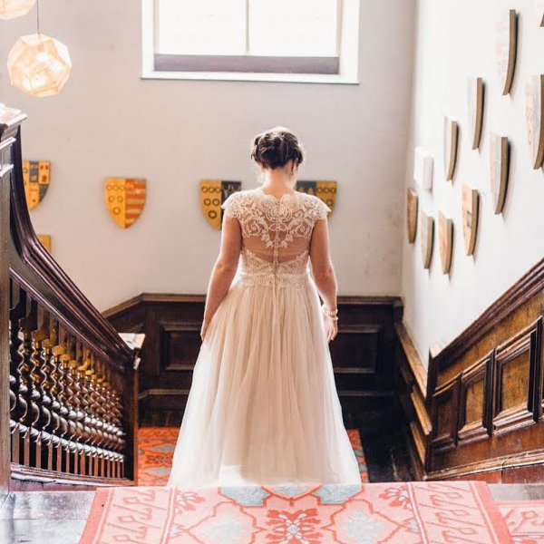 a7ecc32ced64 REAL BRIDE// Emily let us in on a little secret when she came to