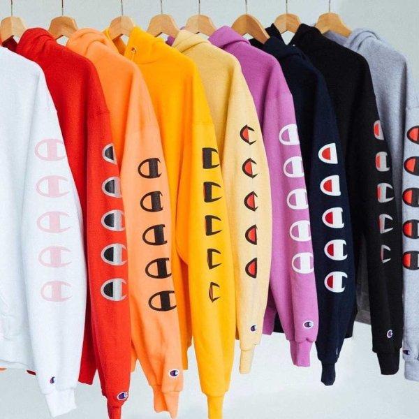 Champion Repeat Eco Hoodie Sweatshirt   Urban Outfitters