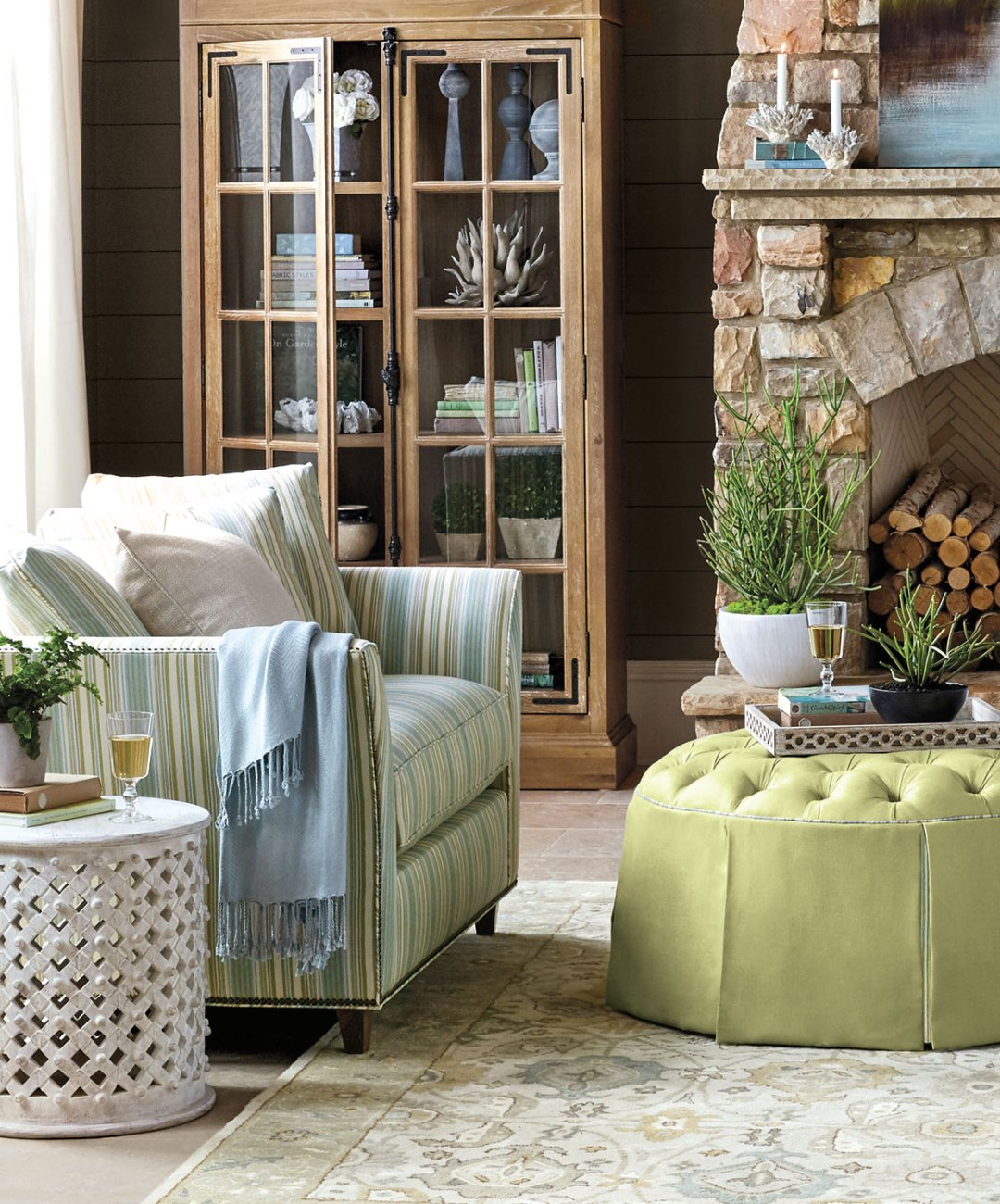we re loving citrus colors how to decorate hayes ottoman ballard designs
