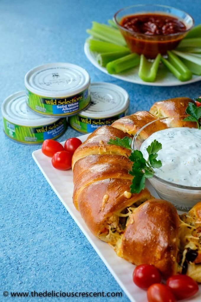 Mediterranean tuna melt crescent ring the delicious crescent save forumfinder Images