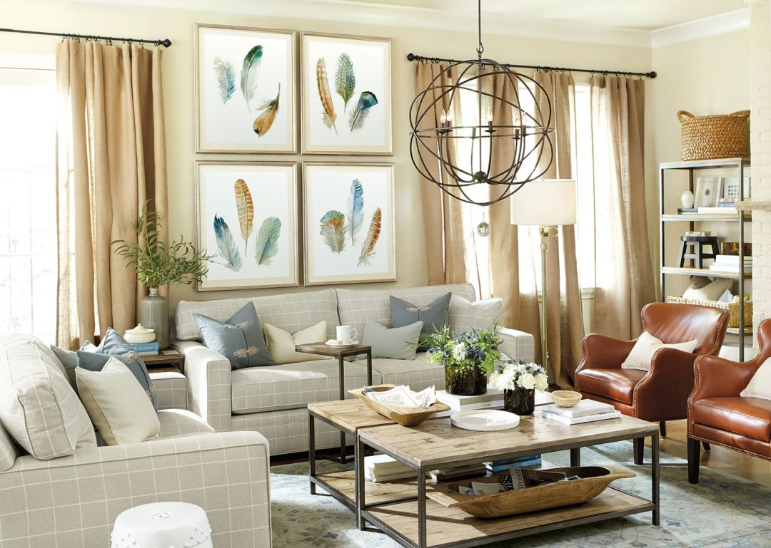 15 ways to layout your living room how to decorate - Large pictures for living room ...