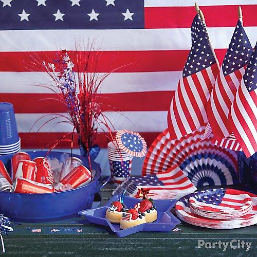 Patriotic Party Ideas Party City