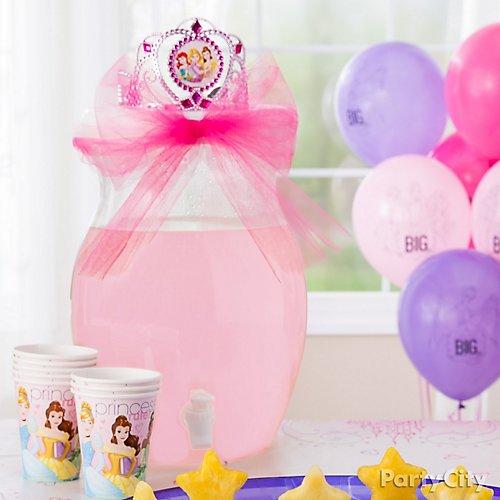 Idea 8 Make Princess Punch The Crown Jewel Of Treats Table