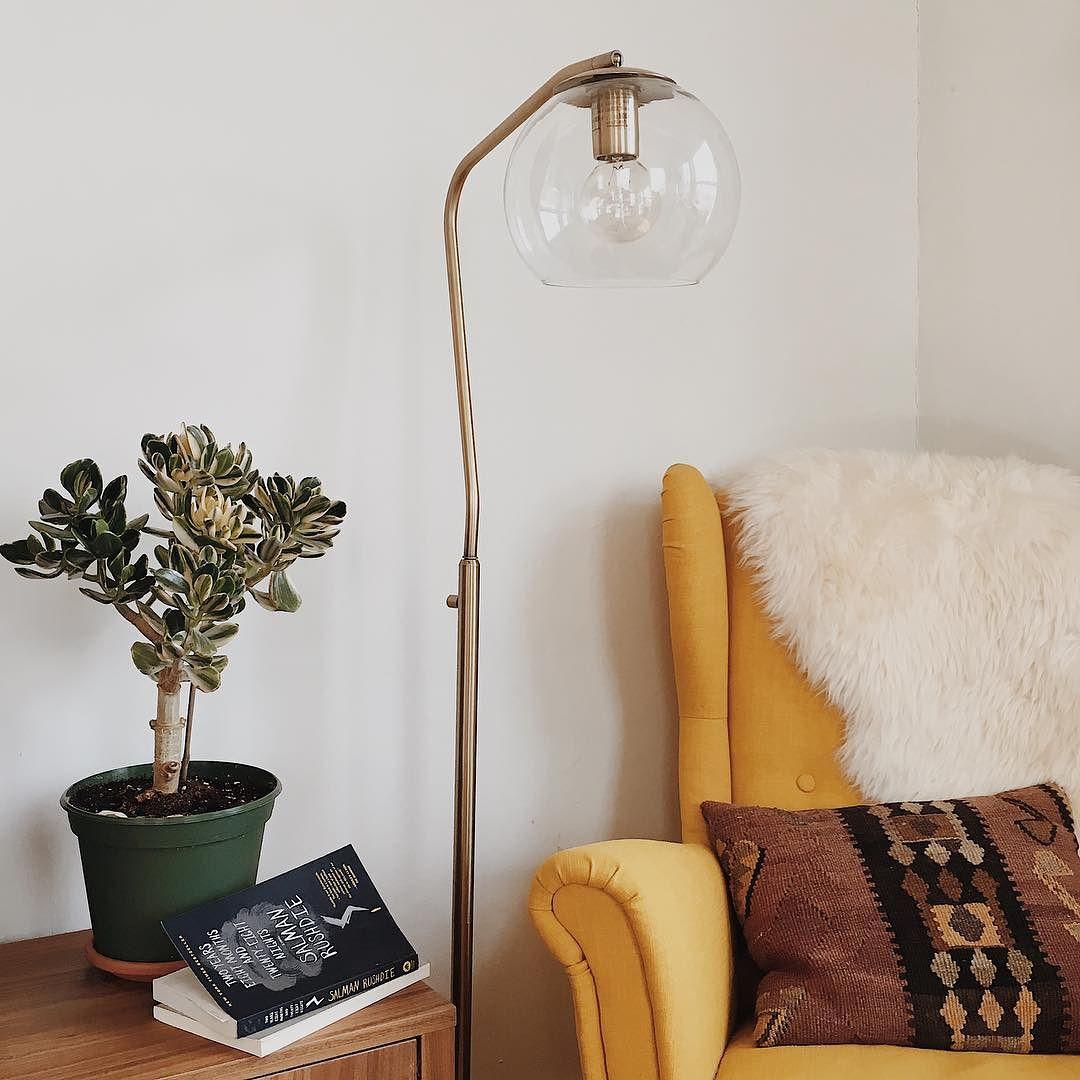 Menlo Collection Floor Lamp Brass Threshold Target