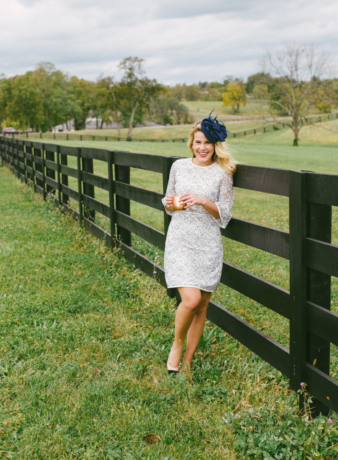 What to Wear to Keeneland with Sydney of Summer WindDraper James Blog