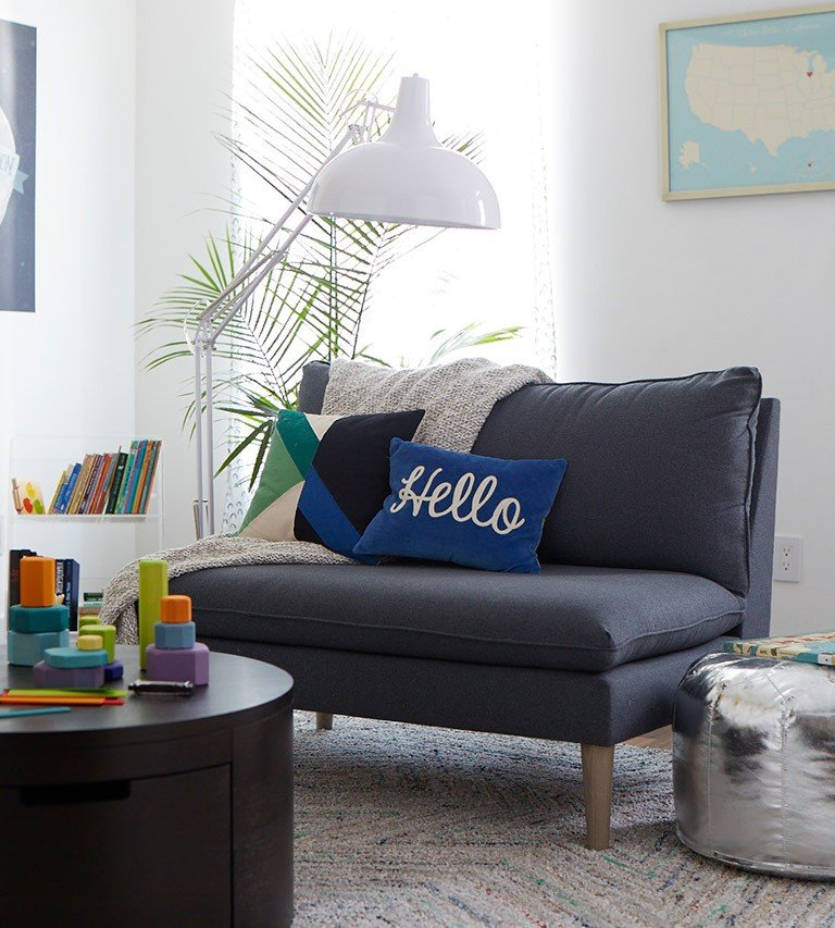 Create A Kid Friendly Living Room The Land Of Nod