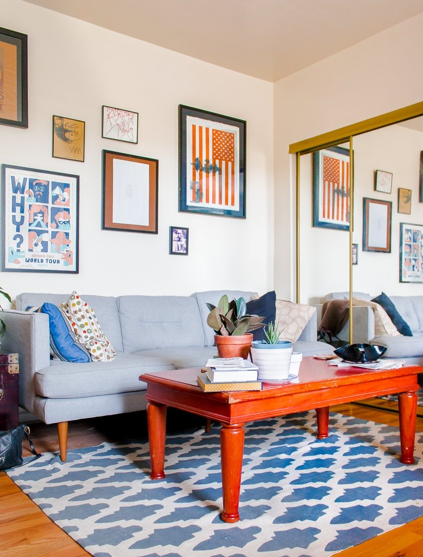 House Tour A Cool 500 Square Foot Chicago Studio