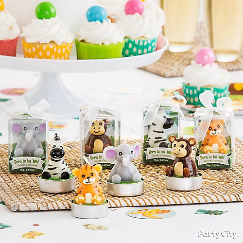 Curated image with Born to Be Wild Baby Shower Tealight Candles 4ct