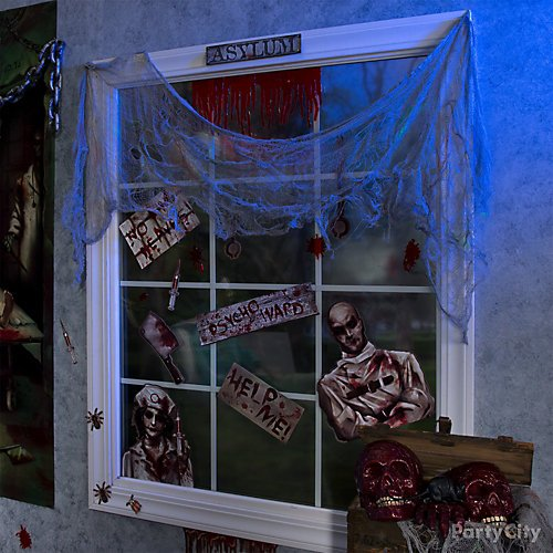Crazy For Halloween Haunted Asylum Is The Theme For You Party City