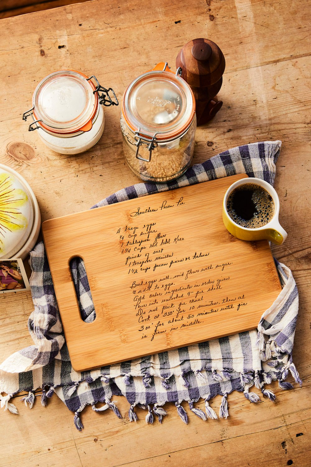 typed recipe cutting board - 800×950