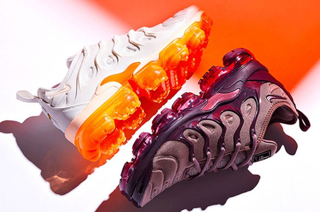 b2f166182ac89 Nike Womens Air VaporMax Plus Trainer - Smokey Mauve   Bordeaux