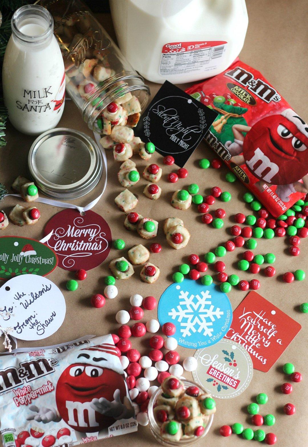 Holiday Shortbread Cookie Bites Recipe - Mom Needs Chocolate