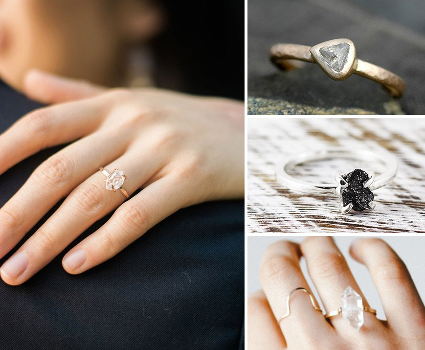 Romantic Engagement Ring Trends for 2018 From Etsy