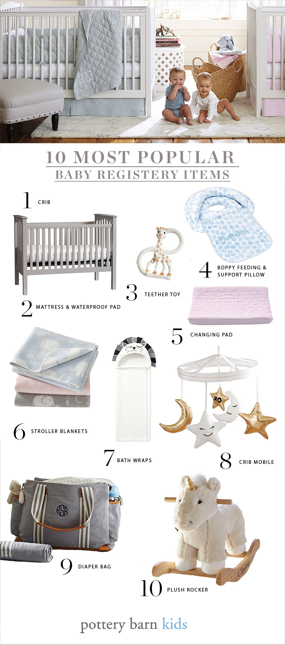 Most popular baby registry items cribs bassinets negle Images