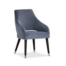 Shop Naveen Light Gray VELVET Upholstered Arm Chair and more