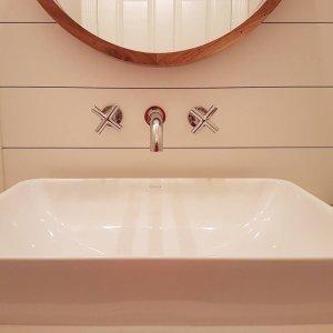 Purist WallMount Sink Faucet Trim Cross Handles KT KOHLER - Kohler purist bathroom sink