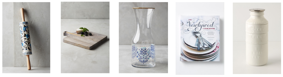 shop petalpress rolling pin rumeli cheese board tisanne carafe the newlywed cookbook milk bottle measuring cups and more