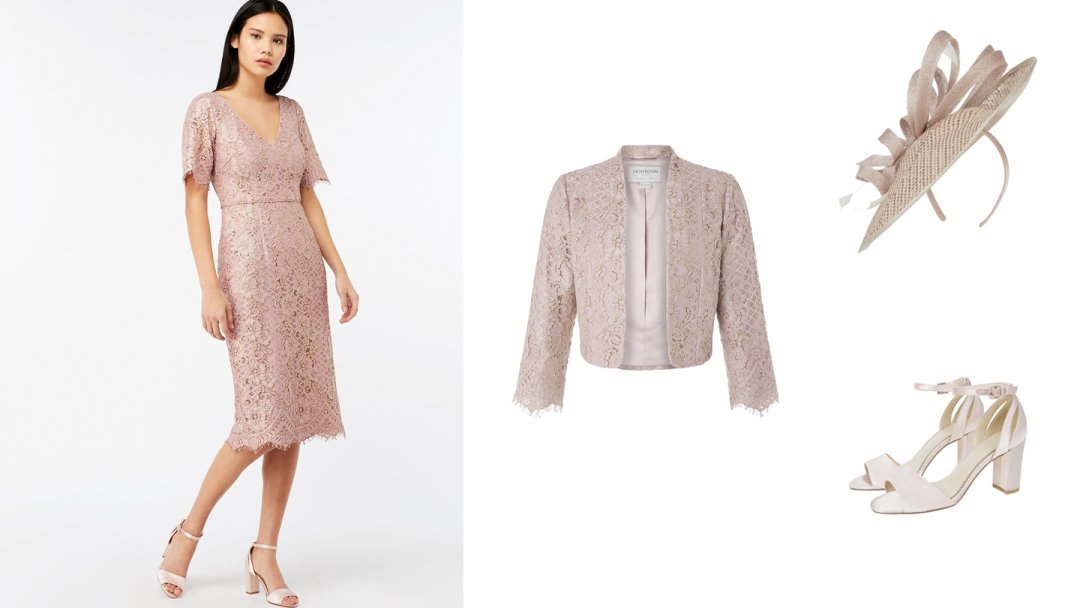 951ba295a21 Curated image with Monsoon Jeanie Lace Dress Blush 18